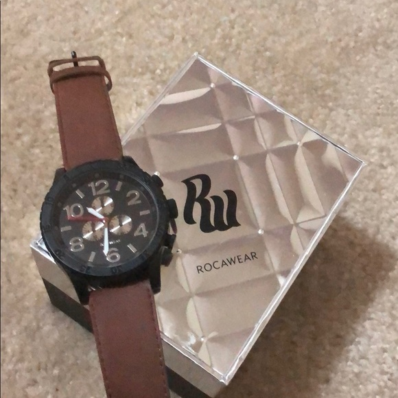 Rocawear Watch And Bracelet Set
